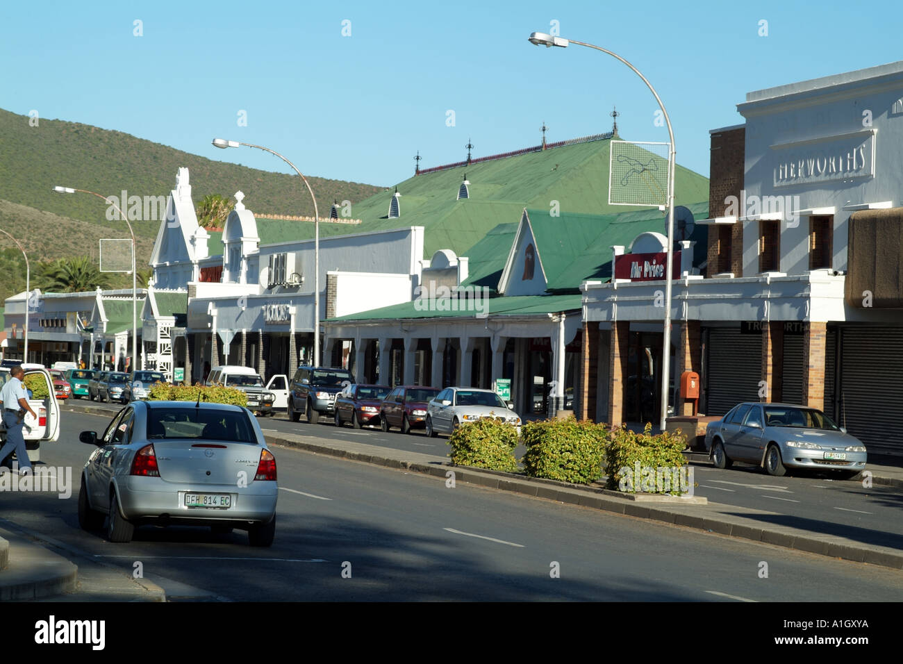 Graaff-Reinet South Africa  city pictures gallery : Stock Photo Graaff Reinet old Karoo town Eastern Cape South Africa ...