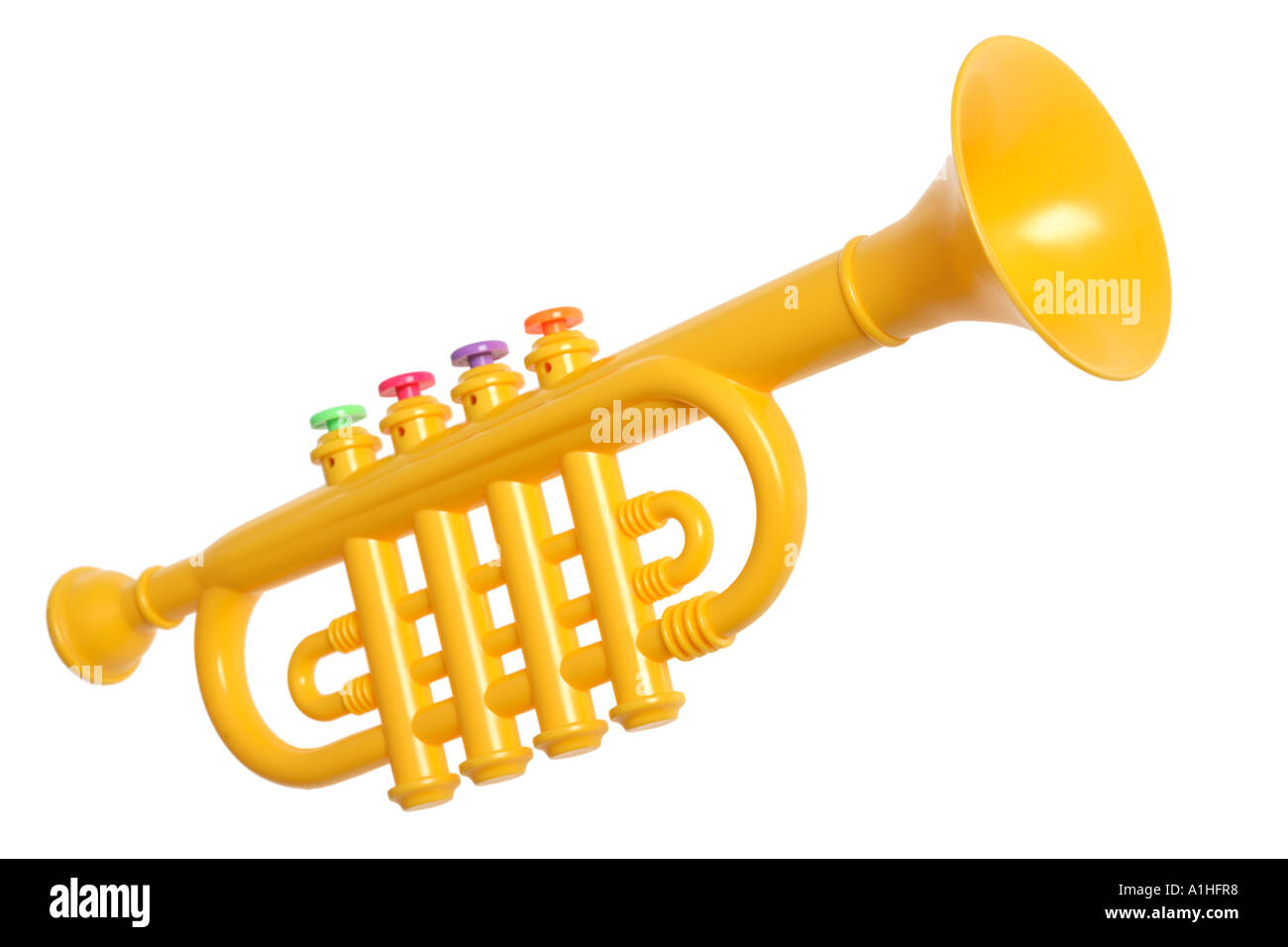 Toy trumpet stock photo royalty free image 5864631 alamy stock photo toy trumpet sciox Choice Image