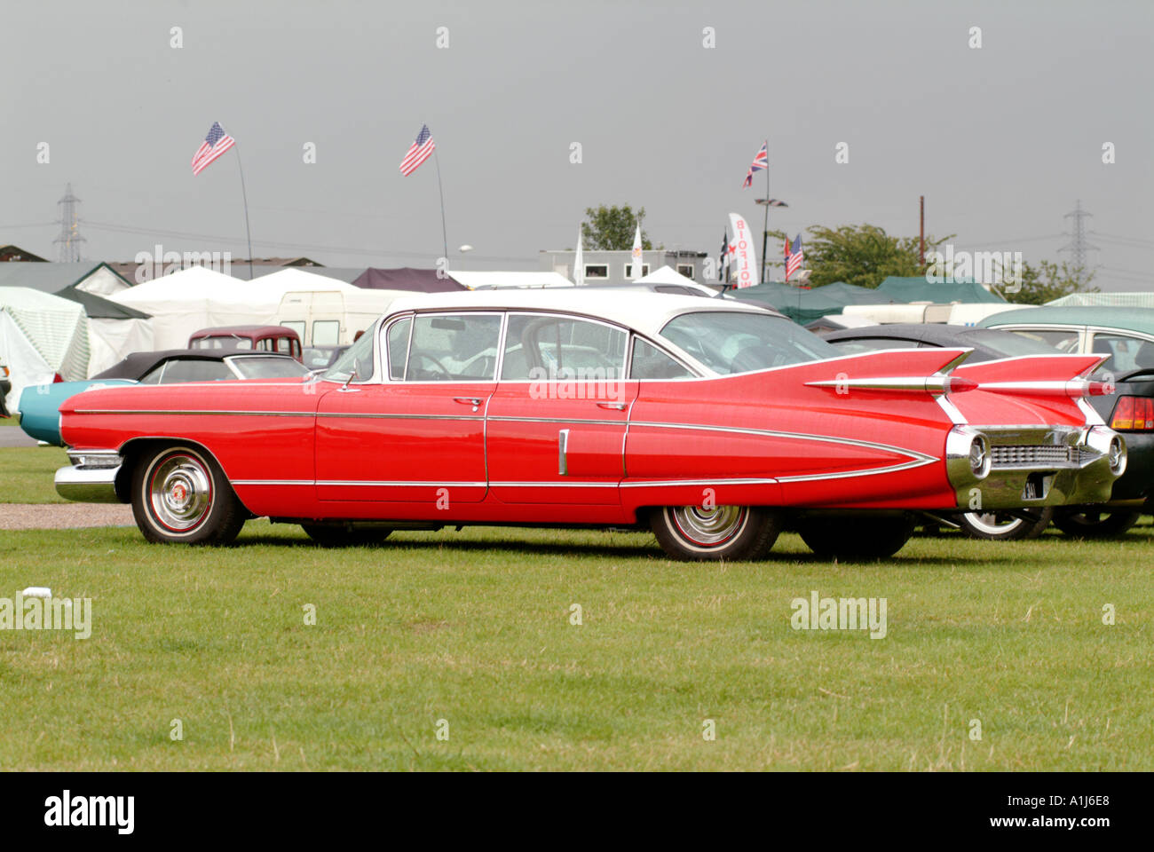 Cadillac luxury car 1950 s 1959 v8 engine america american classic car chrome fins flash general