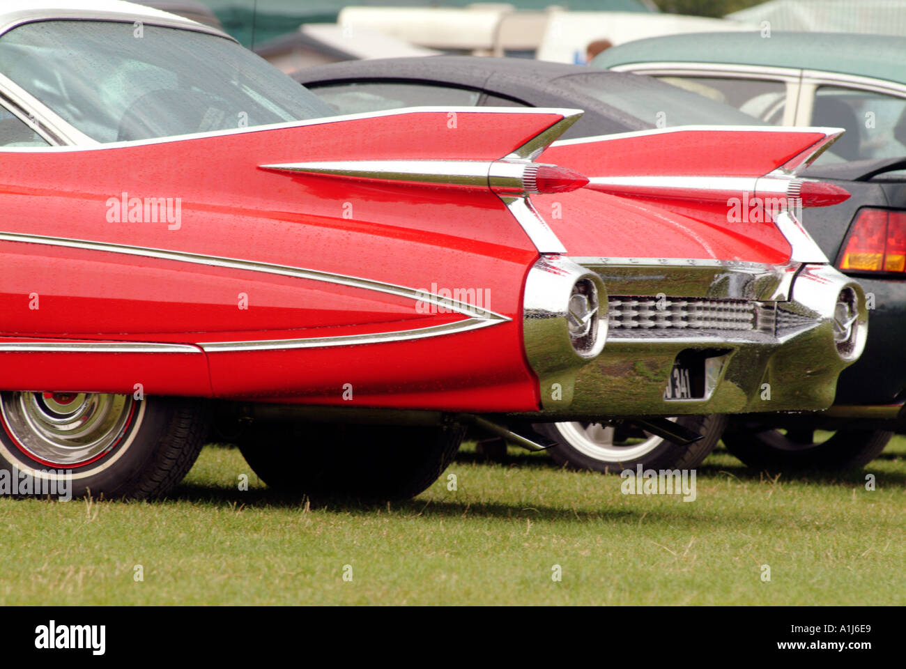 Cadillac Car Tail Fins Stock Photos Cadillac Car Tail Fins Stock