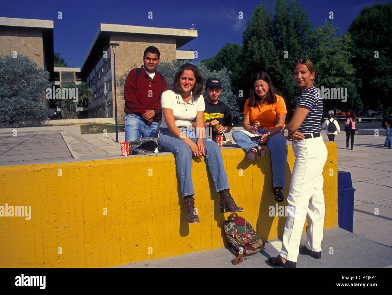 Mexican People Person Students On Campus At University Of ...