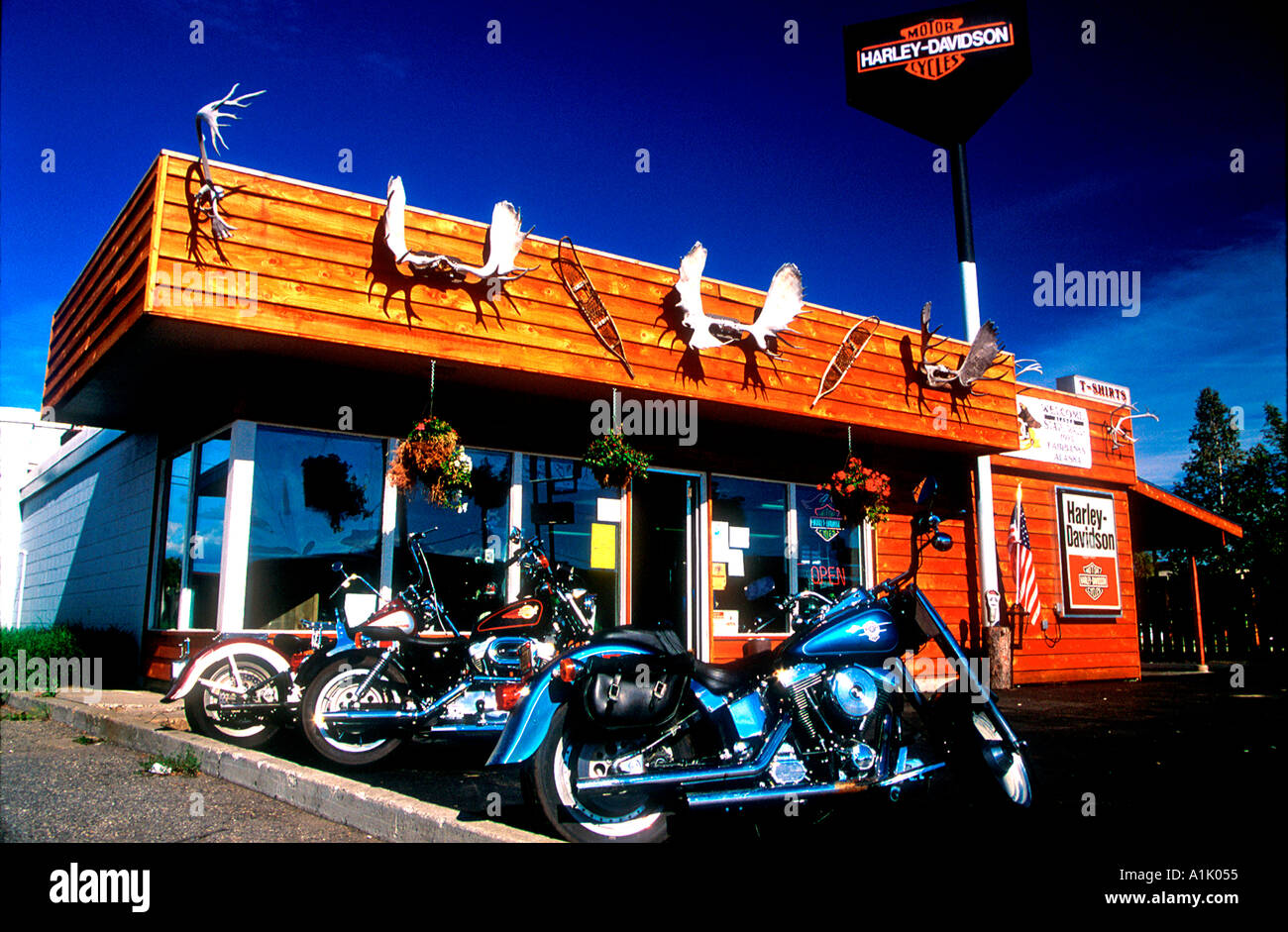Most northern Harley Davidson dealer Fairbanks Alaska USA ...