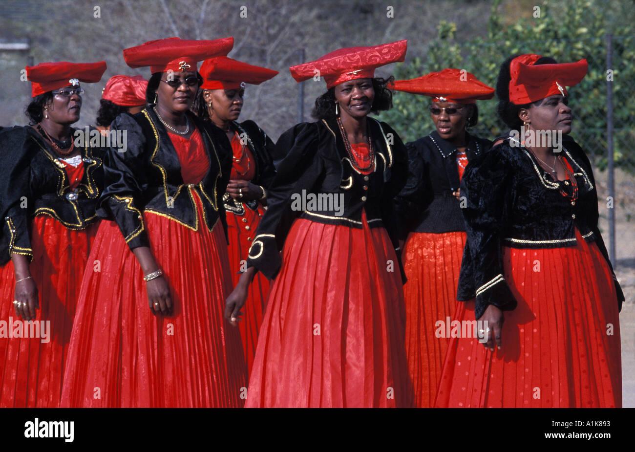 Namibia herero dress images