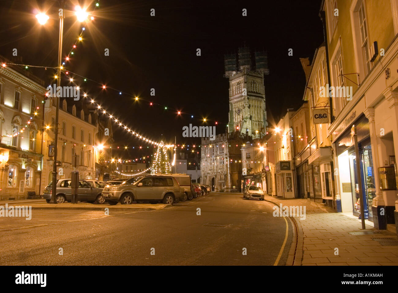 Cirencester high street with Christmas lights and decorations & Cirencester high street with Christmas lights and decorations ... azcodes.com