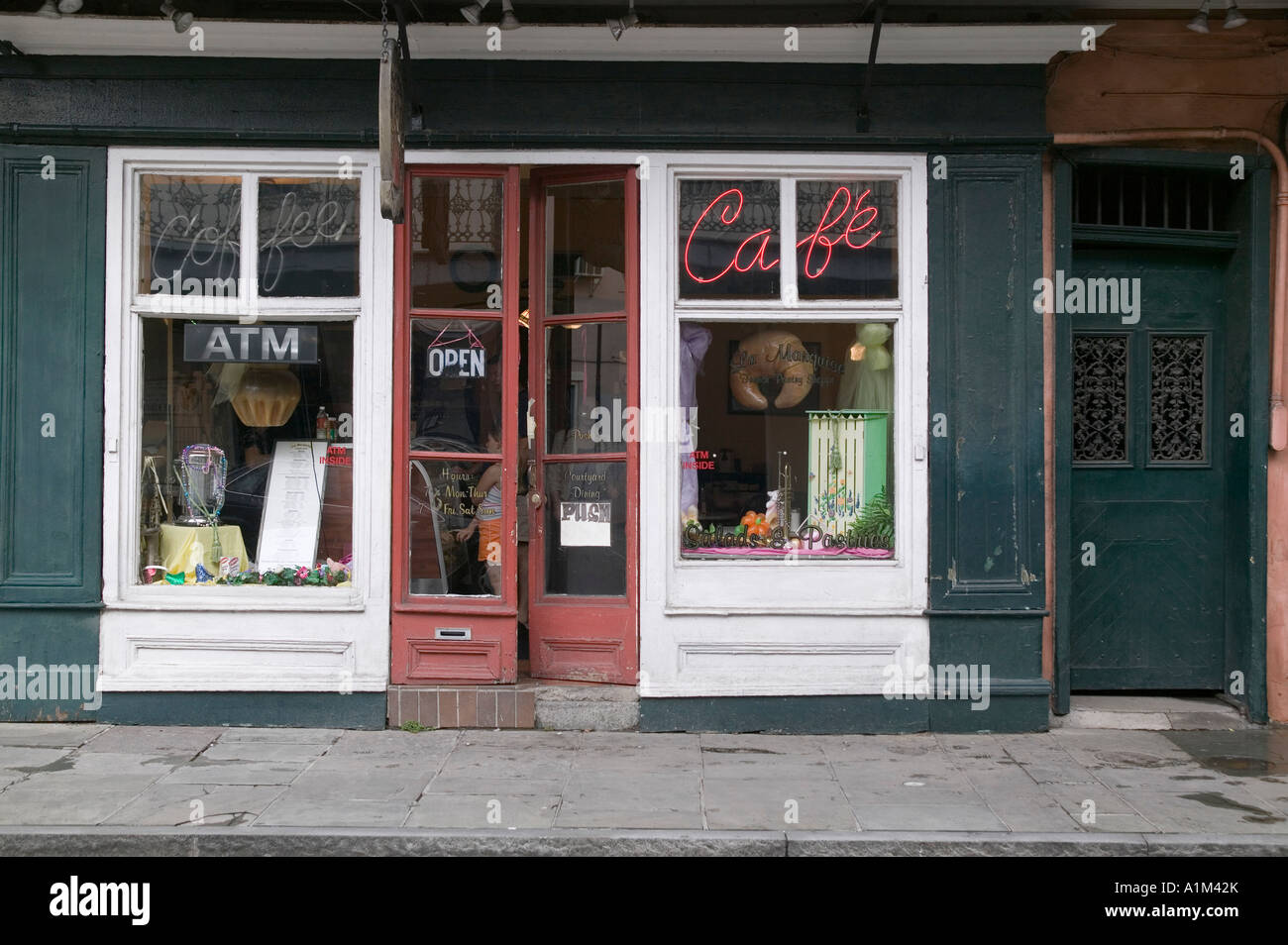 A bakery in the French Quarter in New Orleans Stock Photo Royalty