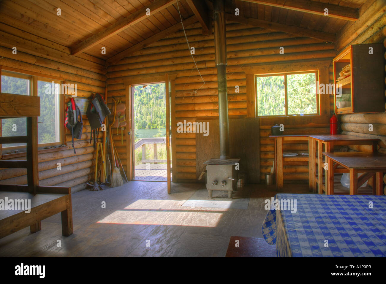 Barber cabin lower russian lake russian lakes resurrection for Russian river cabins