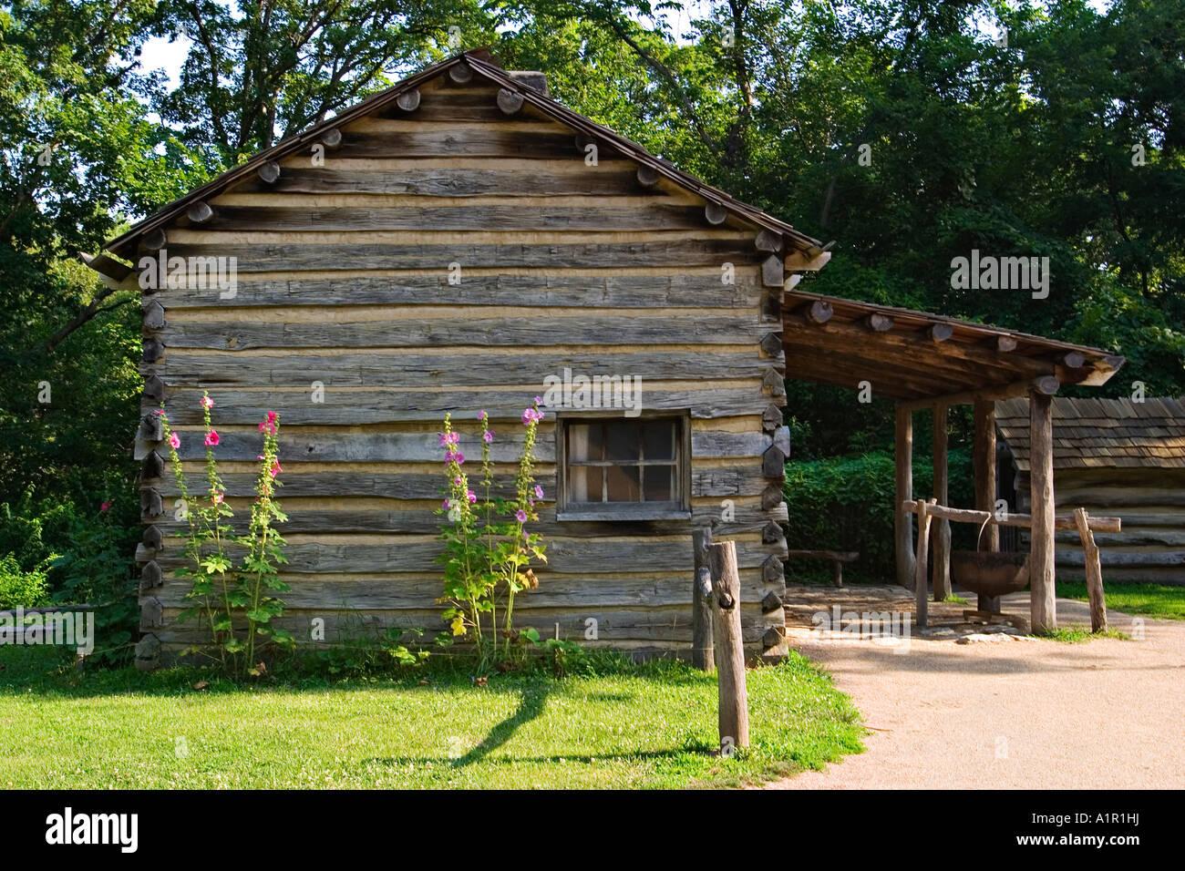 Illinois New Salem Historic Site Near Petersburg Abraham