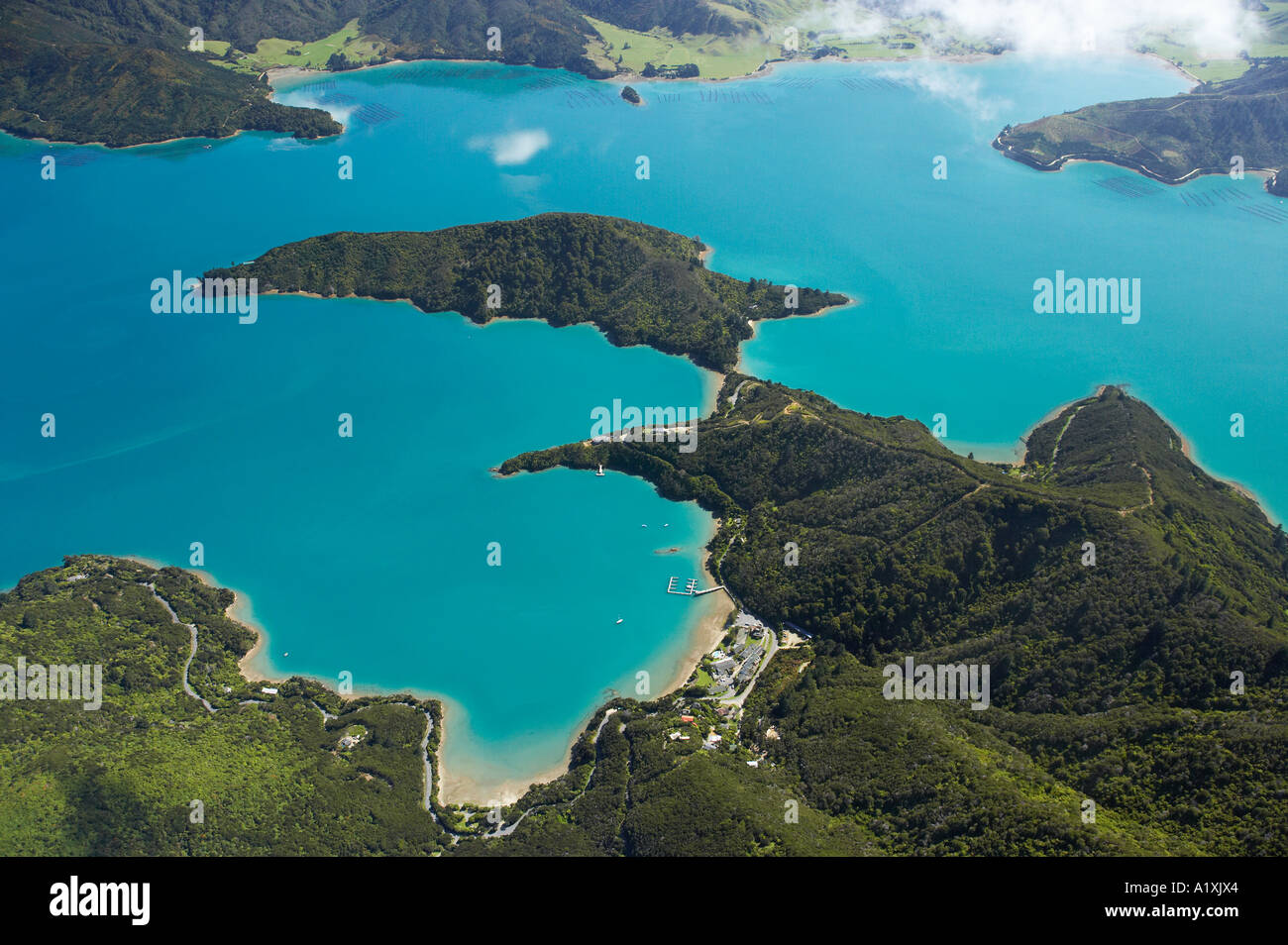 Marlborough Sounds New Zealand  city photo : Portage Kenepuru Sound Marlborough Sounds South Island New Zealand ...