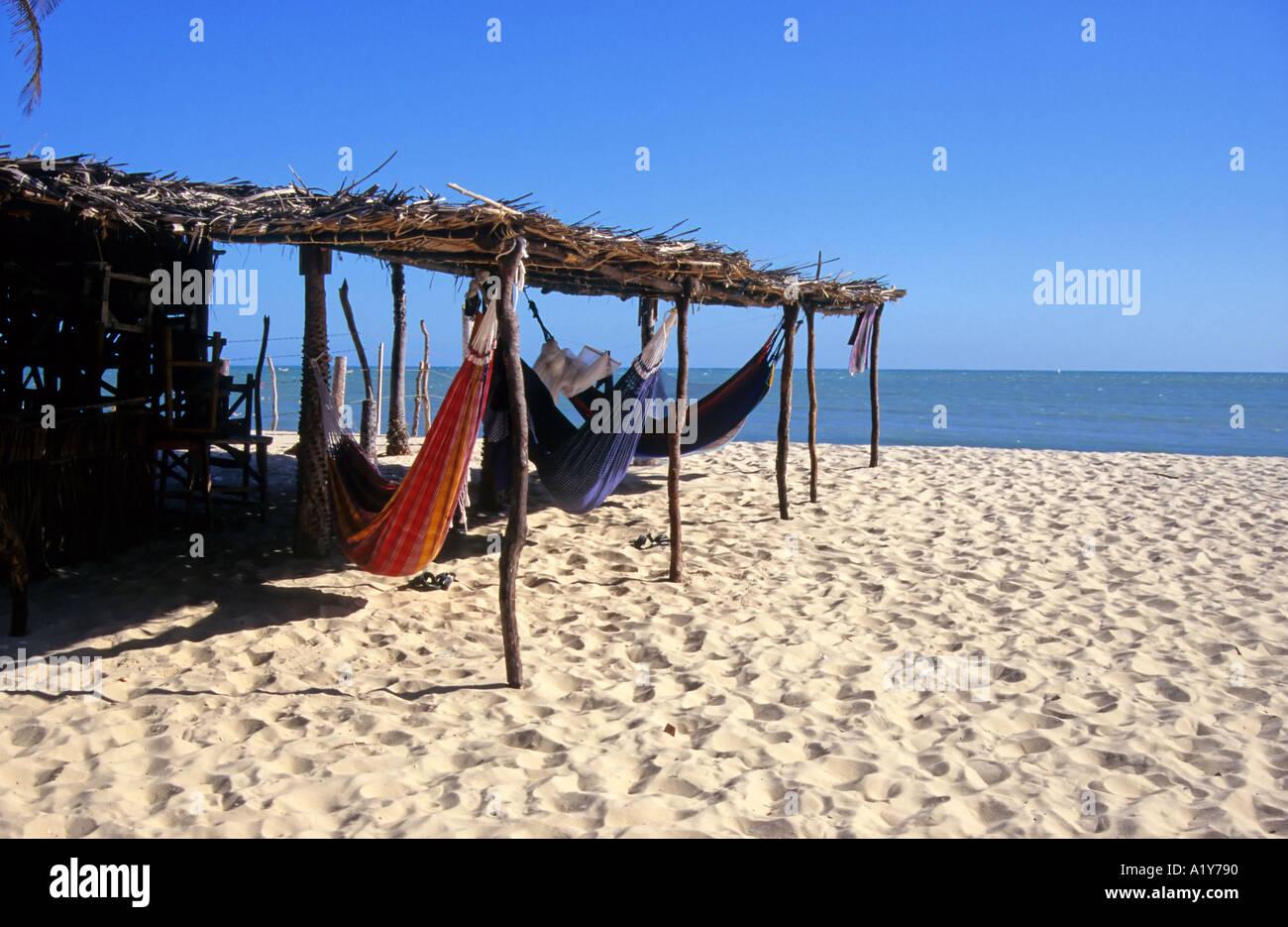 Hammocks on the beach - Hammocks On The Beach Pecem North East Brazil