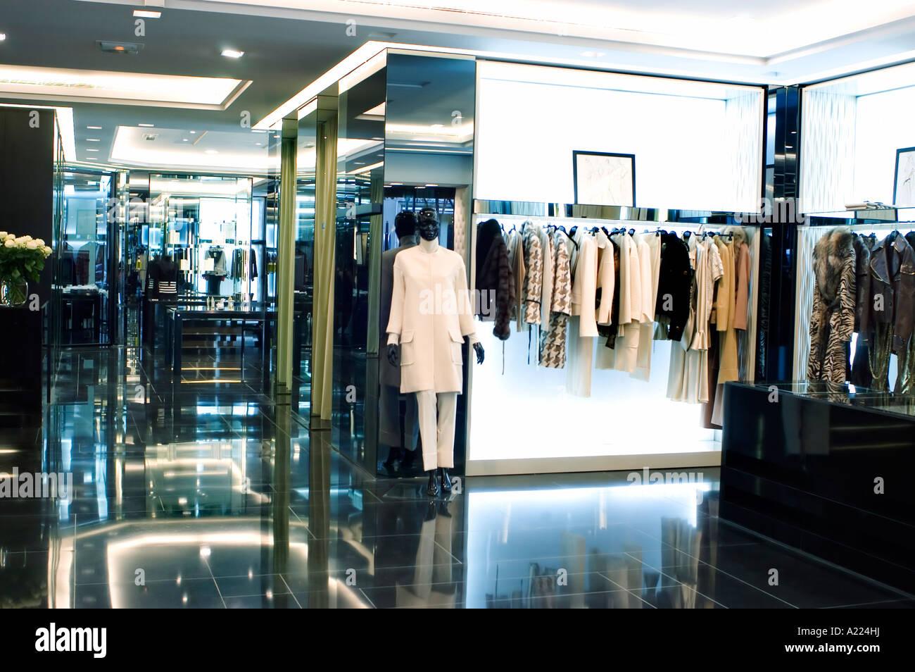 paris france luxury shopping fashion brand shops boutique stock photo royalty free image. Black Bedroom Furniture Sets. Home Design Ideas