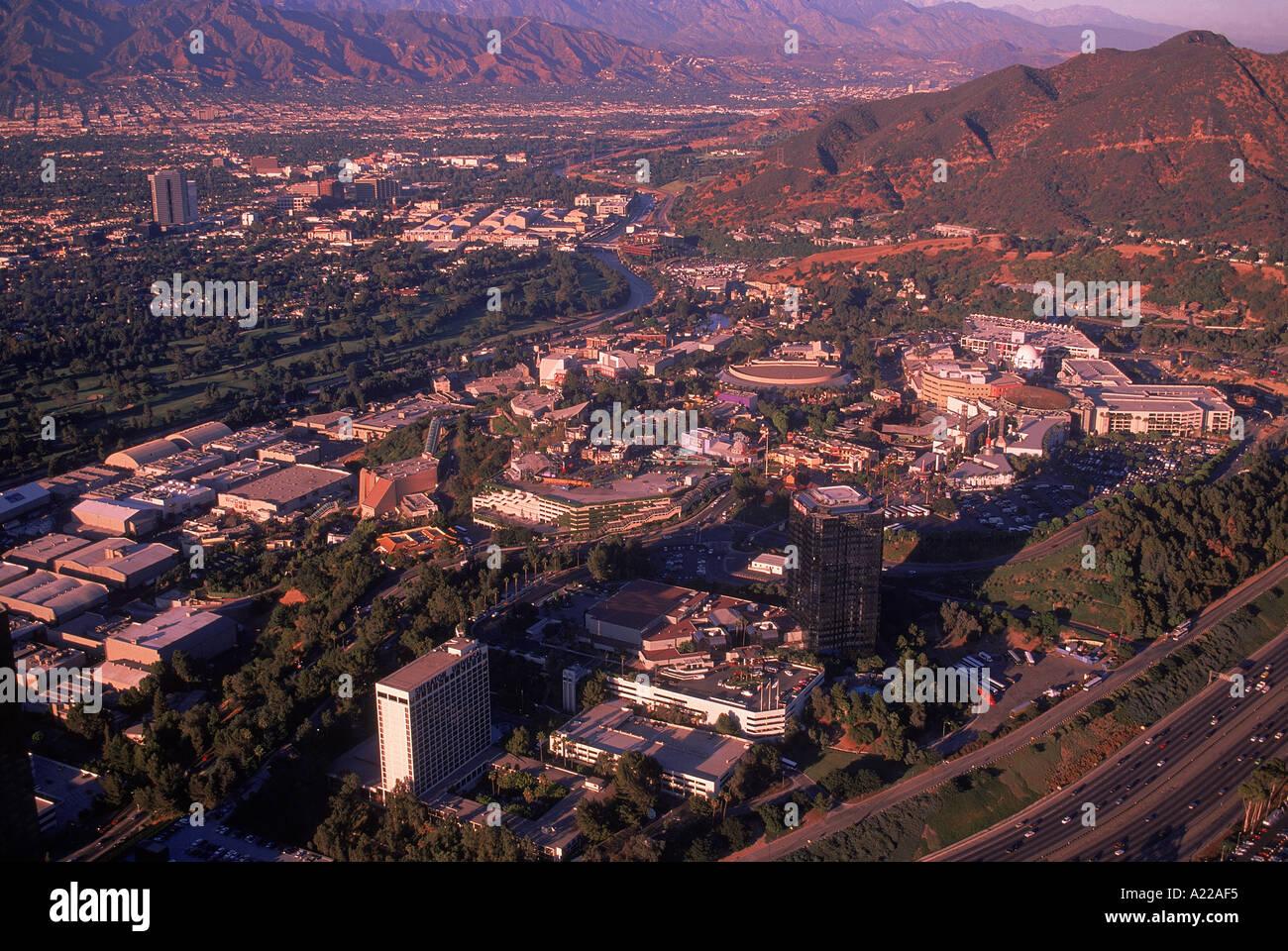 Studios Map Universal Studios Studios Hollywood SouthTracks The - City of los angeles jurisdiction map