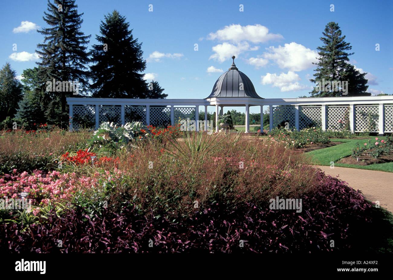 Botanical Gardens Near Niagara Falls Ontario Canada Stock