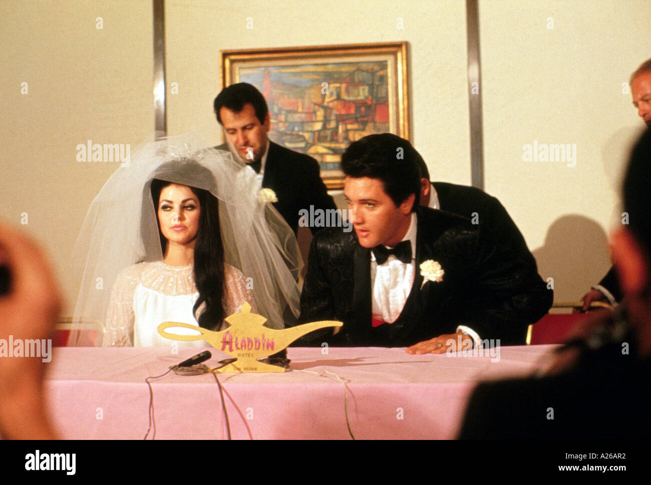 elvis presley wedding press conference 1967 see caption A26AR2 - Sell My Wedding Dress