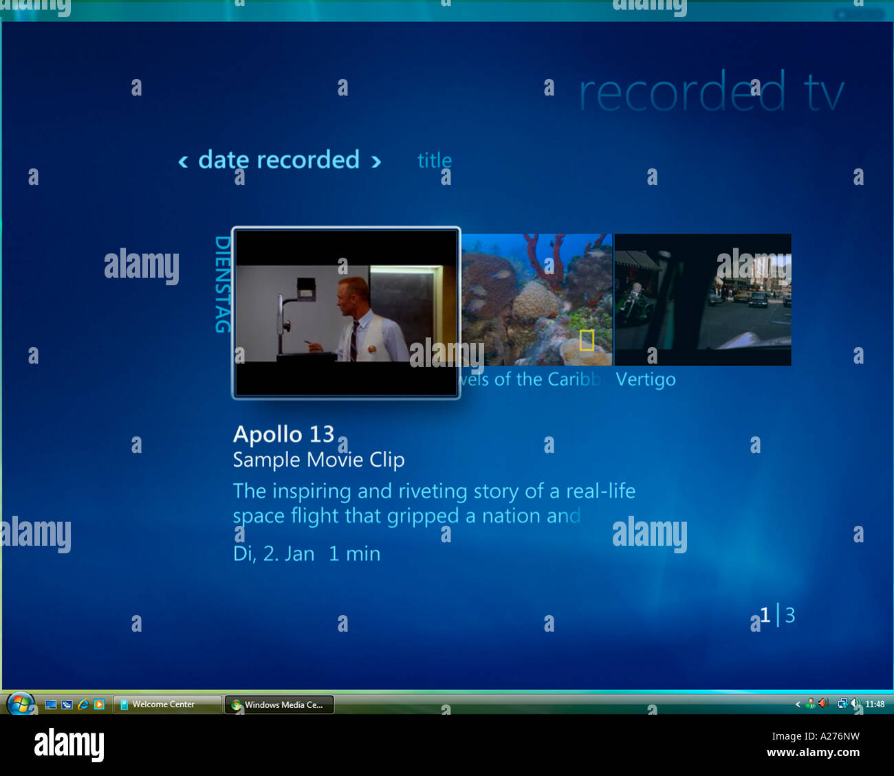 Microsoft Windows Vista, english version, Media Center User Stock ...
