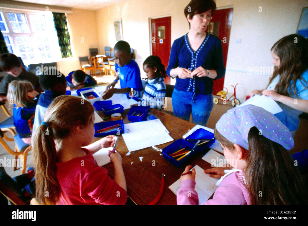 Sunday school children stock photos & sunday school children stock ...