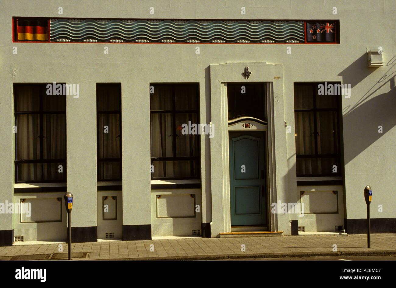 art deco office building napier newzealand art deco office building