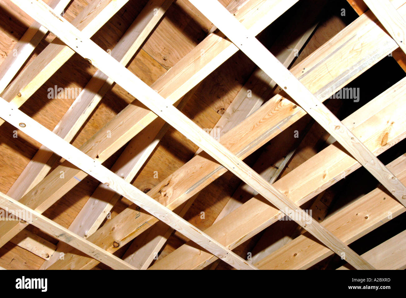 Furring Strips And Roof Joists In A Remodeling Project
