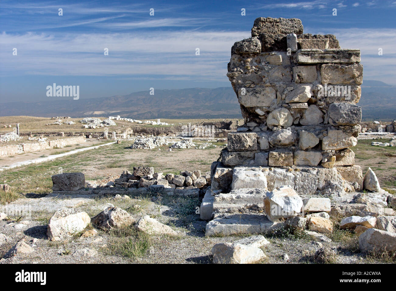 The Ruins Of The Former Biblical Site Laodicea, Turkey ...