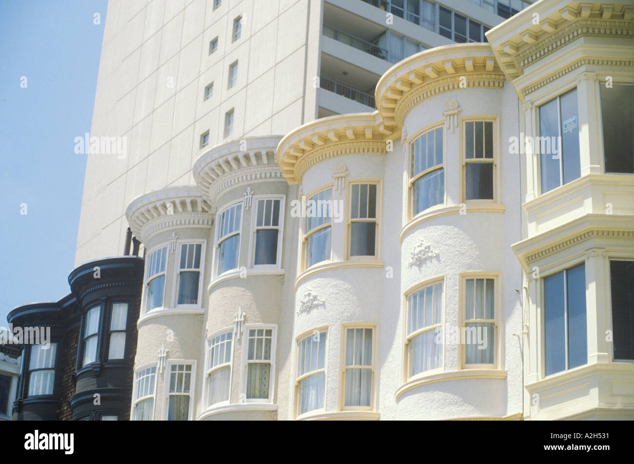 Wedding Cake Windows From San Francisco S Victorian Apartment Buildings 2002