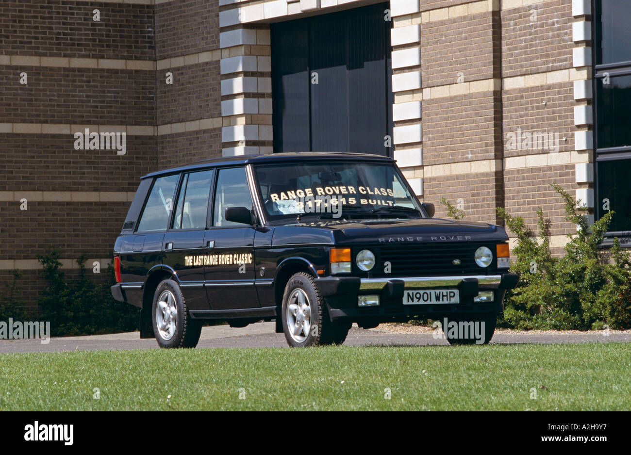 Land Rover Range Rover Classic. Last one built. Model years 1981 to ...