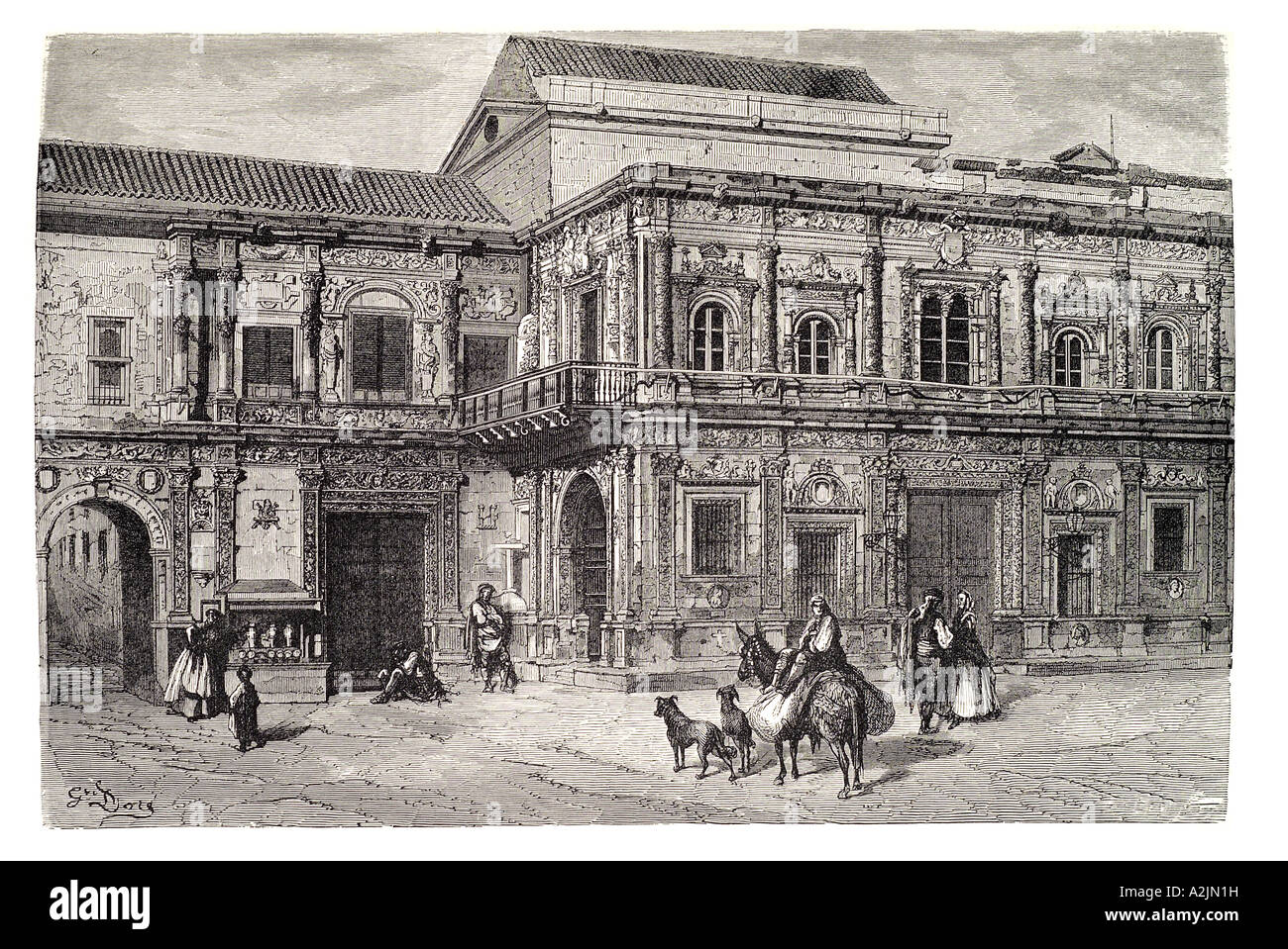 a history of seville a spanish town Sevillanas are a song and dance form which is typical of the spanish town of  seville, but they are sung and danced across the andalusian region  despite  their long history, the word 'sevillanas' meaning a type of spanish dance only  made.