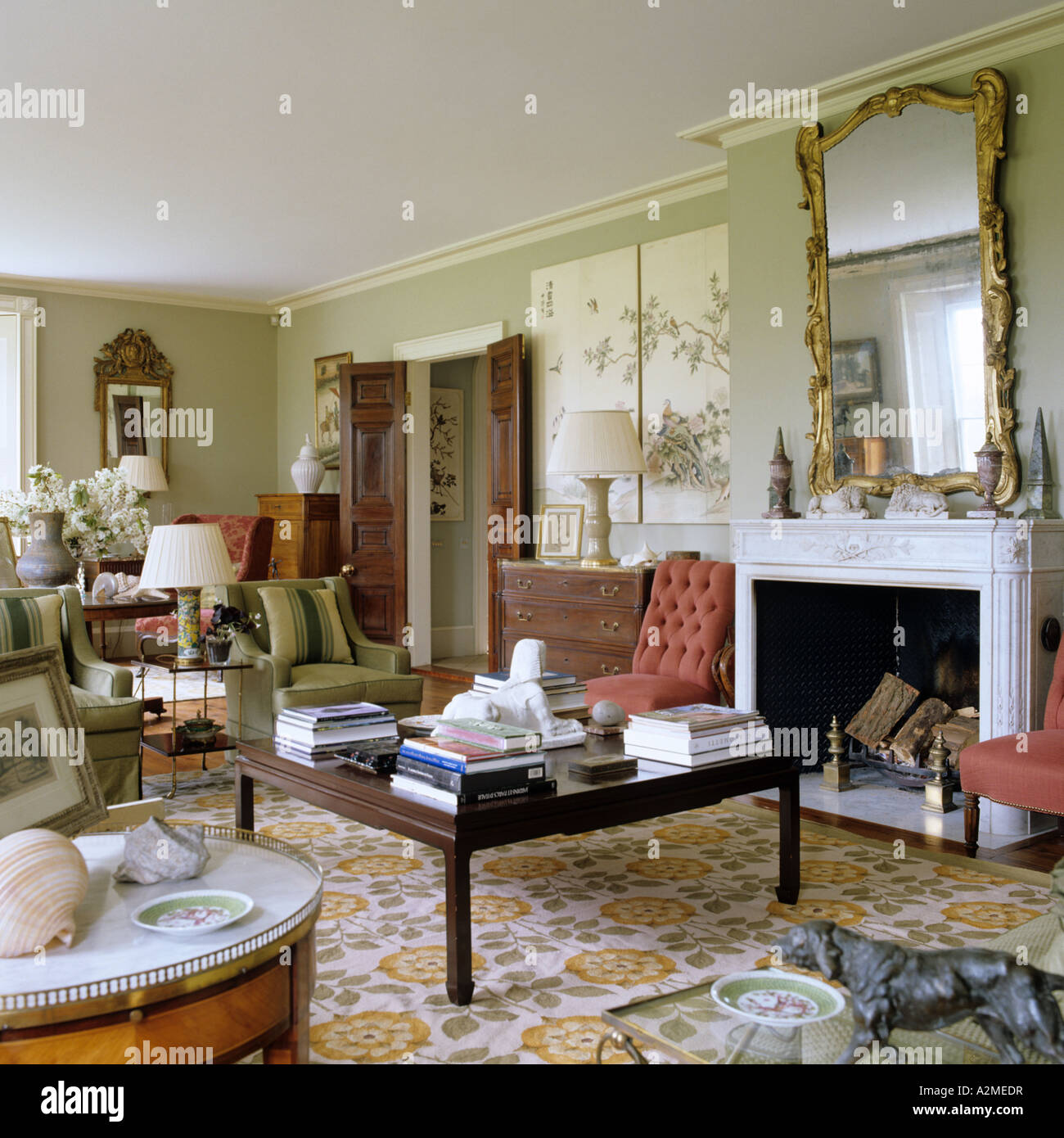 living room of english country house dating from 1820s stock photo royalty free image 10554370. Black Bedroom Furniture Sets. Home Design Ideas