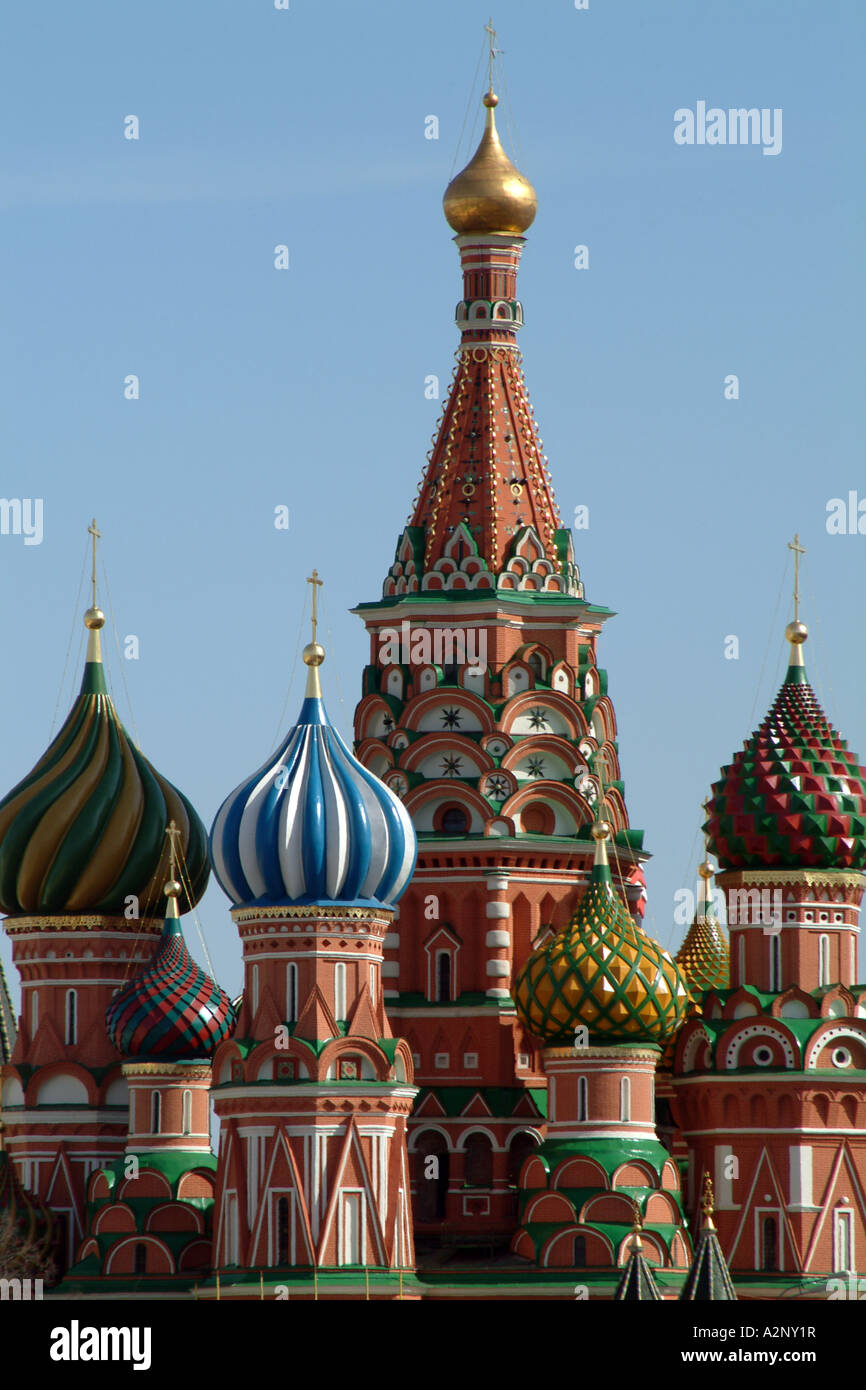 Tent Roofs Amp St Basils Cathedral On Red Square Moscow
