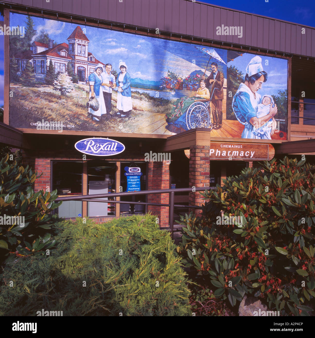 Chemainus vancouver island bc british columbia canada for Mural vancouver