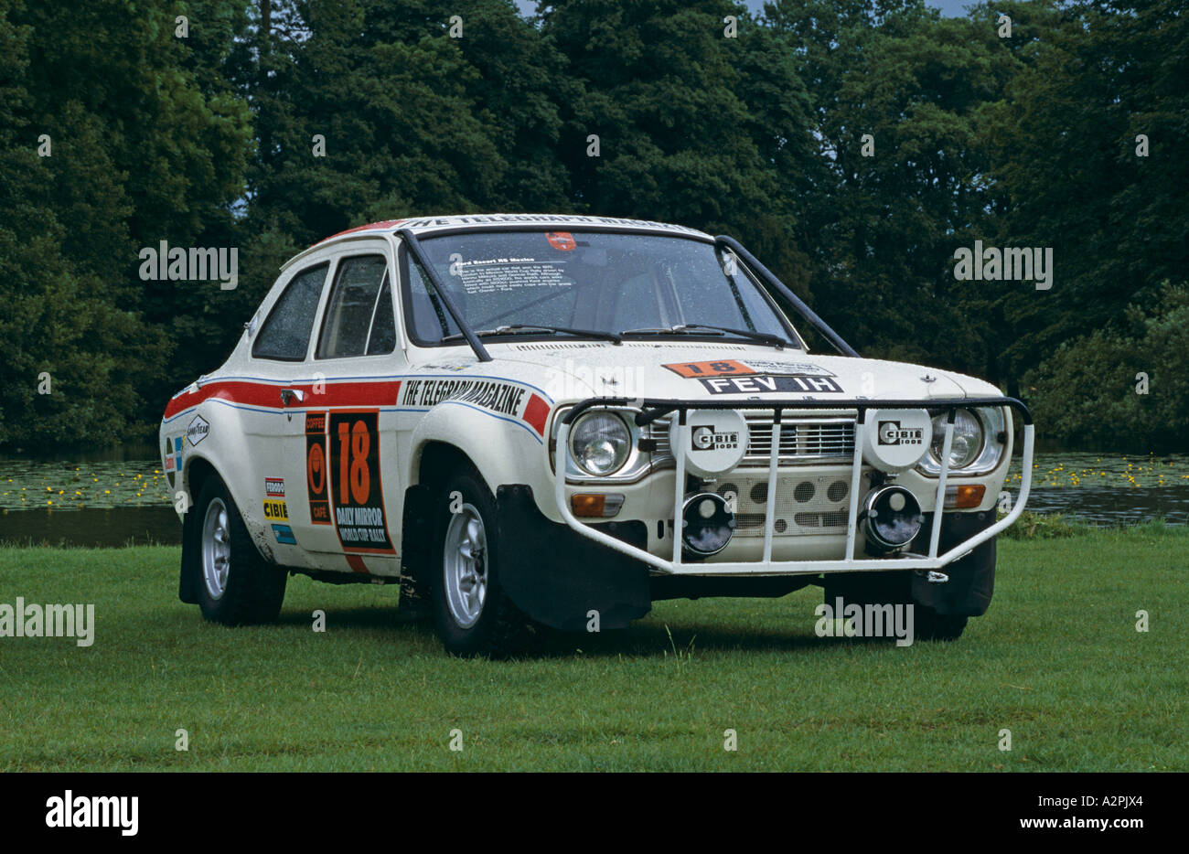 Ford Escort Mk1 Rally Car Stock Photo, Royalty Free Image: 6042659 ...
