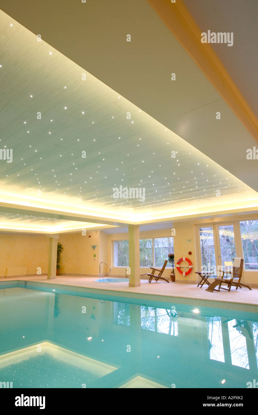A Hotel Leisure Complex Swimming Pool In Ambleside Lake