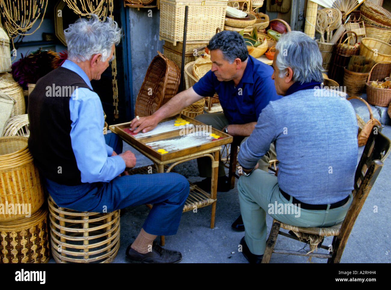 Greek gambling games