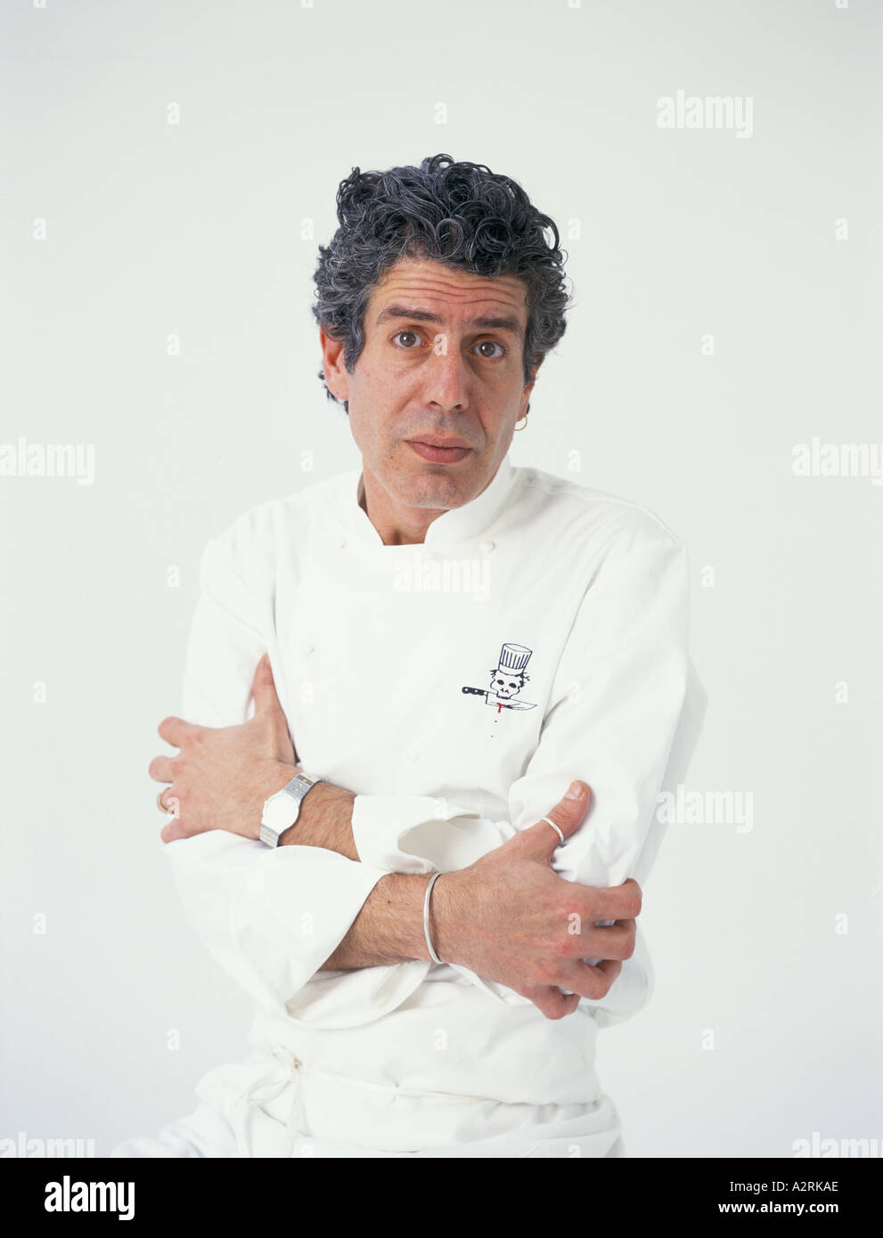 Anthony Bourdain Chef Writer Of Kitchen Confidential Adventures In The  Culinary Underbelly 2000