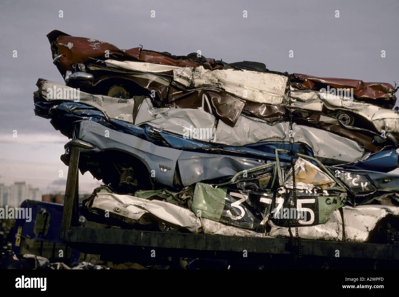 cars at scrapyards Stock Photo, Royalty Free Image: 3461884 - Alamy