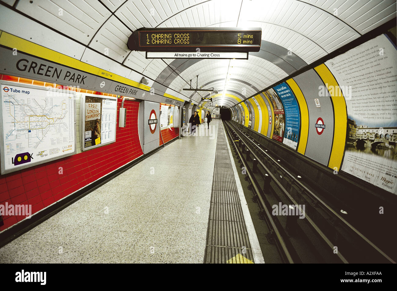 Green Park Tube Station Stock Photo Royalty Free Image 1978281