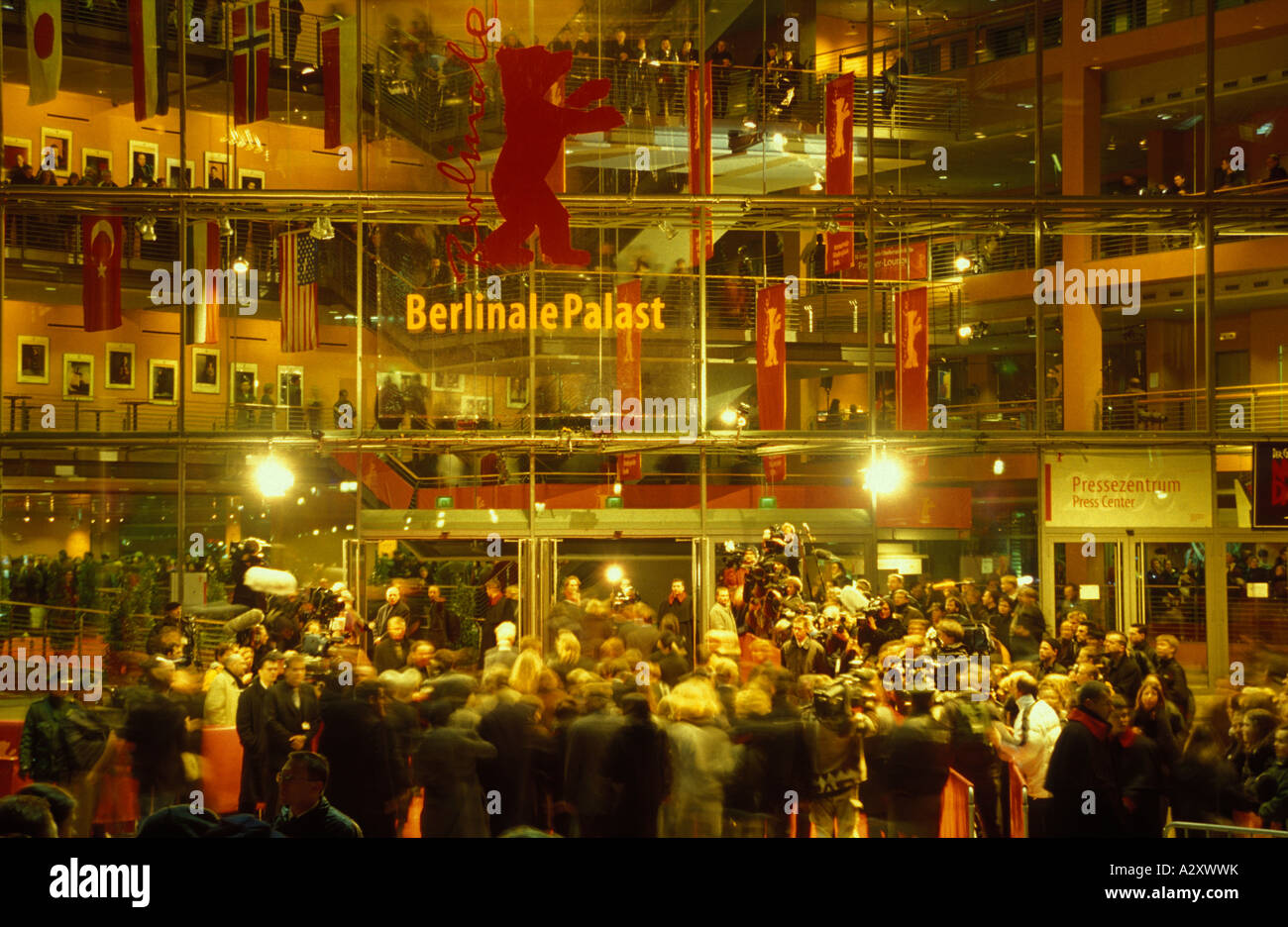 berlin berlinale internationale filmfestspiele berlinale palast stock photo royalty free. Black Bedroom Furniture Sets. Home Design Ideas