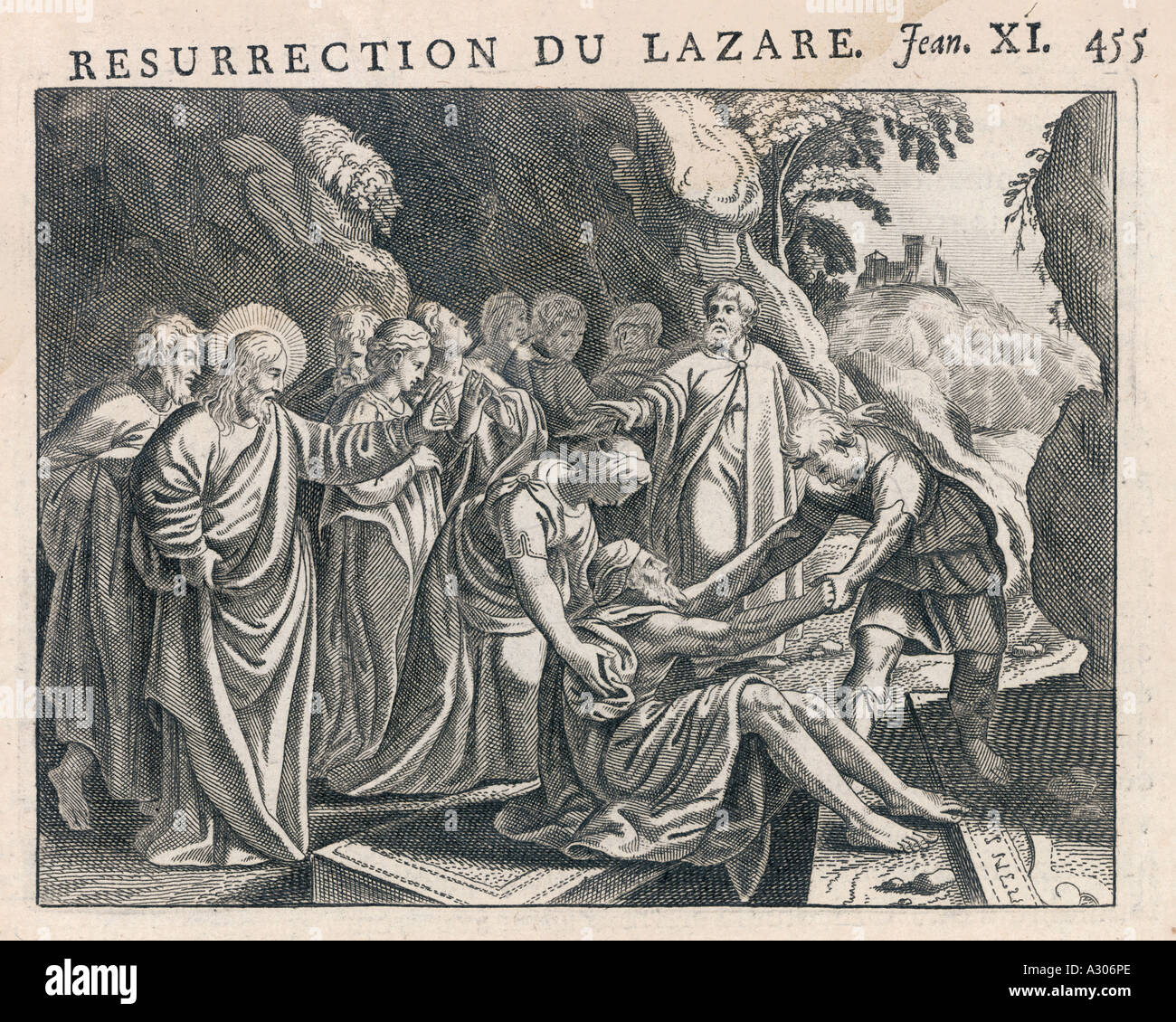 Jesus raises lazarus stock photo royalty free image for Jesus brings lazarus back to life coloring page