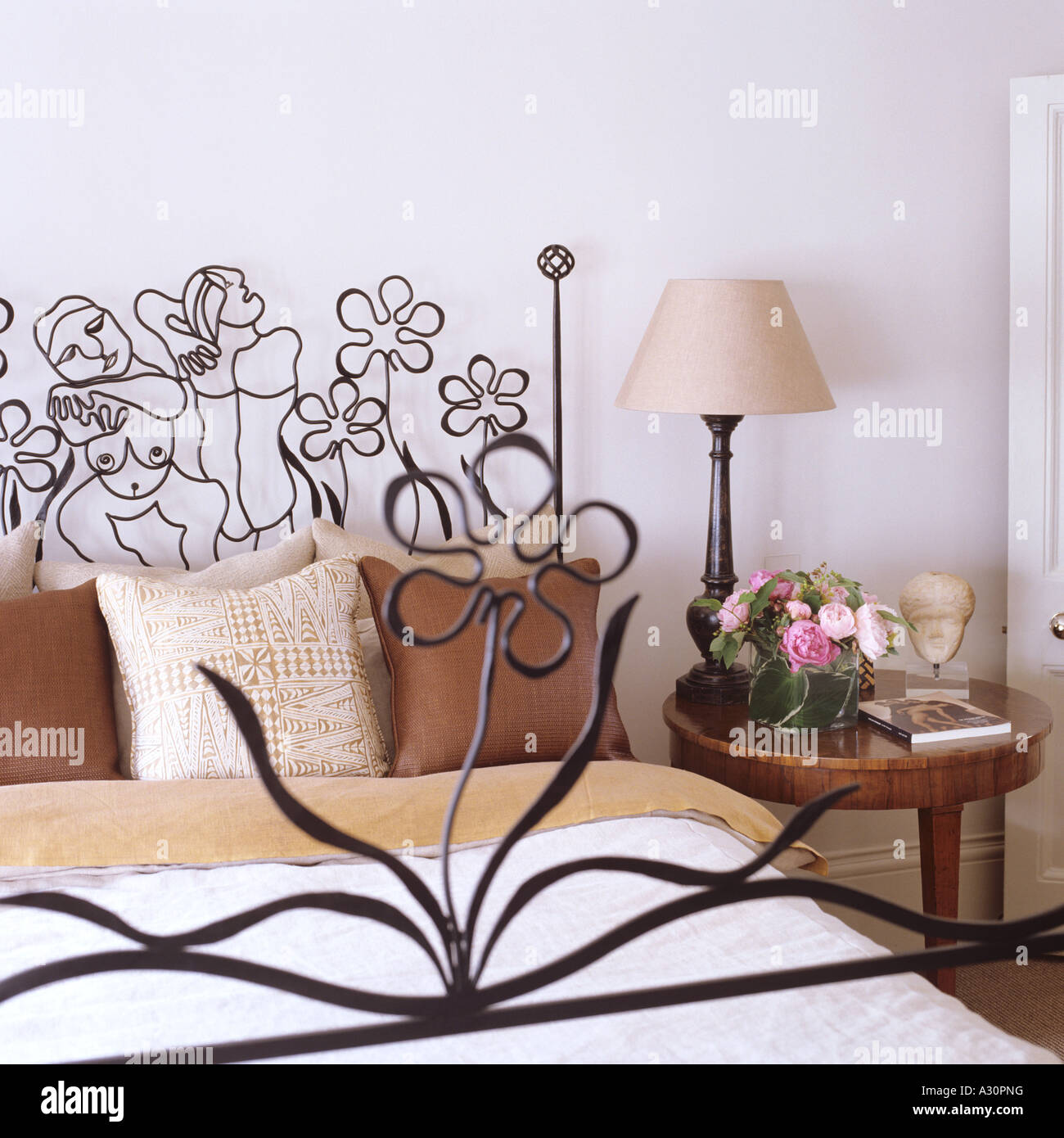 iron with photo bed and headboard headboards footboard wrought stock