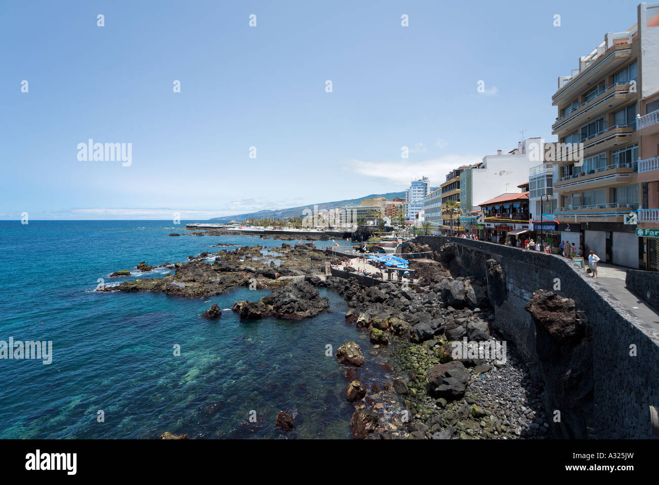 Paseo san telmo puerto de la cruz tenerife canary islands spain stock photo royalty free - Hotel san telmo puerto de la cruz tenerife ...