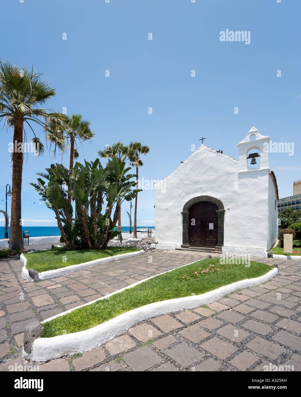 Ermita de san telmo playa san telmo puerto de la cruz tenerife stock photo royalty free - Playa puerto de la cruz tenerife ...