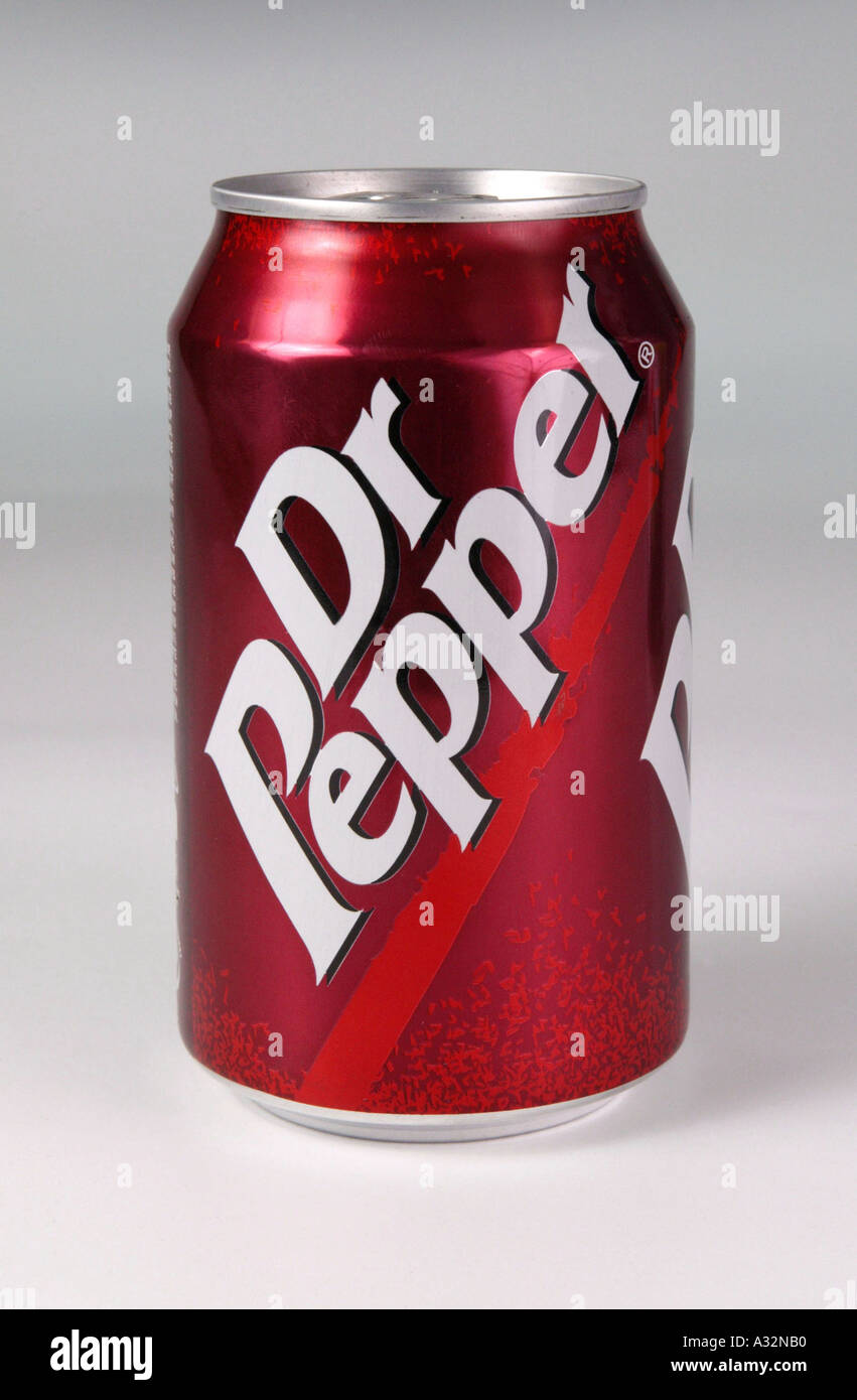 dr pepper fizzy drink can Stock Photo, Royalty Free Image ...