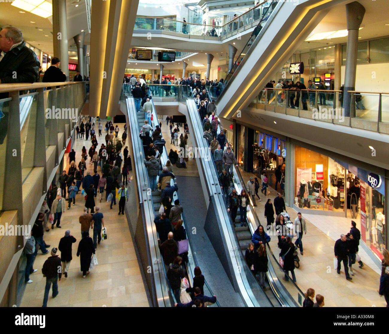 Light Warehouse Birmingham: Bullring Birmingham Retail Shopping Centre Department