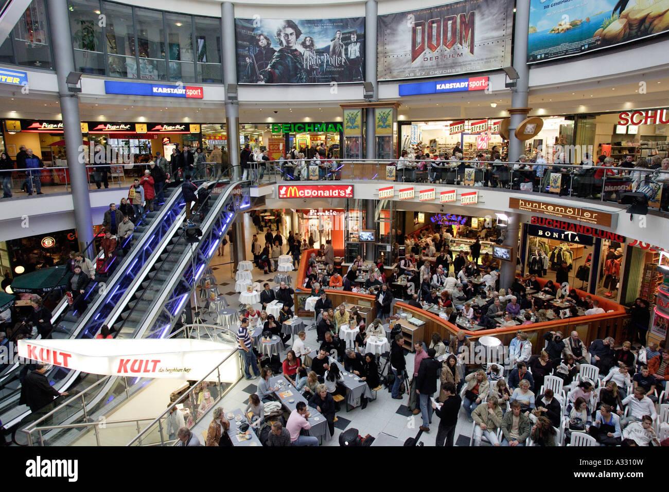 gropius passagen shopping center berlin germany stock photo royalty free image 10653336 alamy. Black Bedroom Furniture Sets. Home Design Ideas