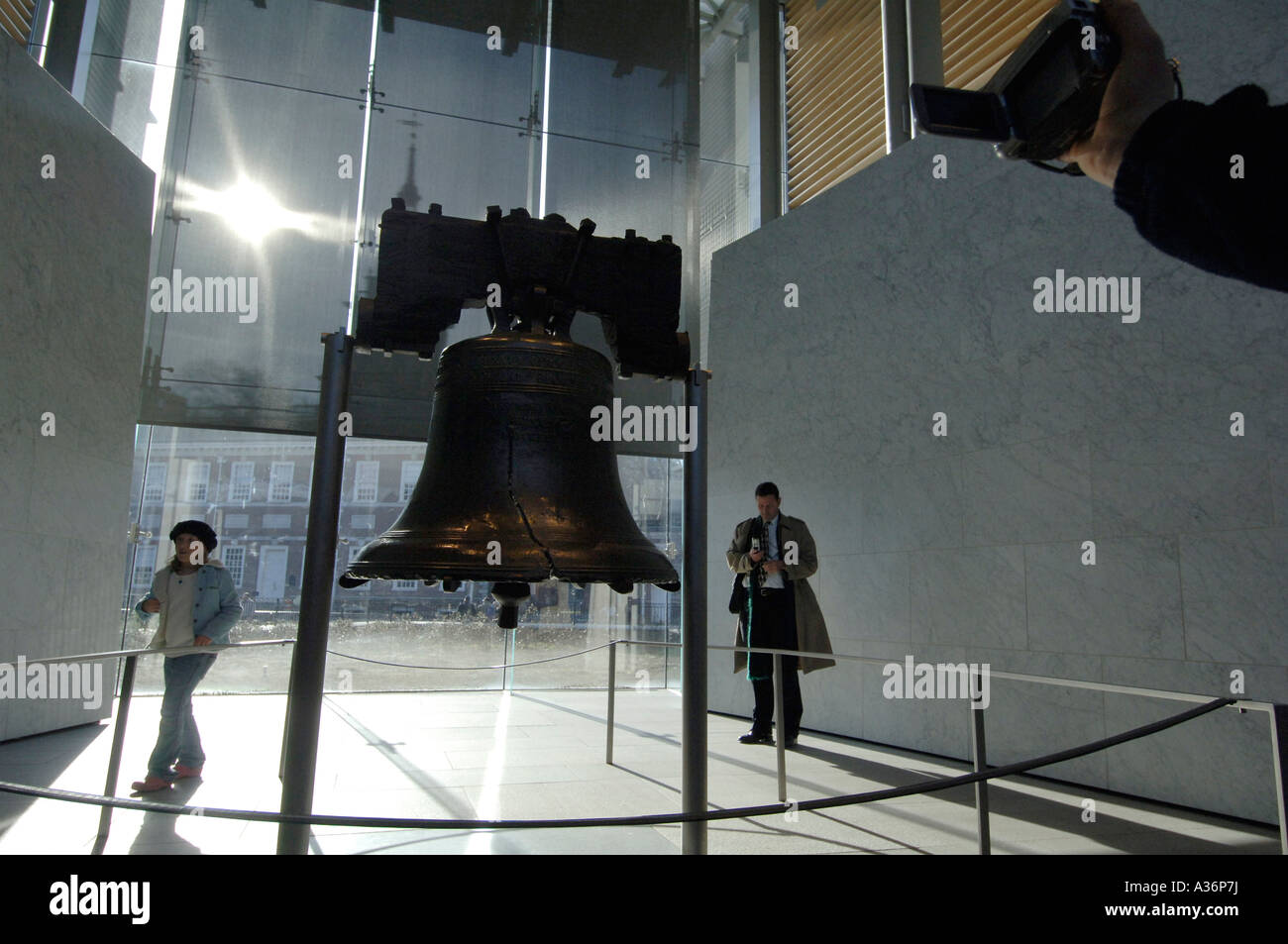 The liberty bell with it s famous crack a symbol of usa freedom the liberty bell with it s famous crack a symbol of usa freedom from british biocorpaavc Images