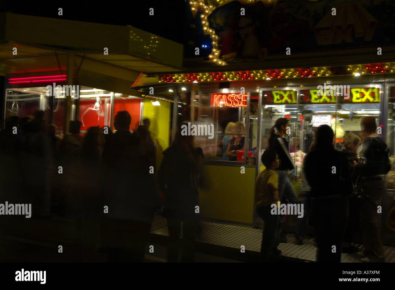 fairground attraction ride entertainment colour color fair machine ...