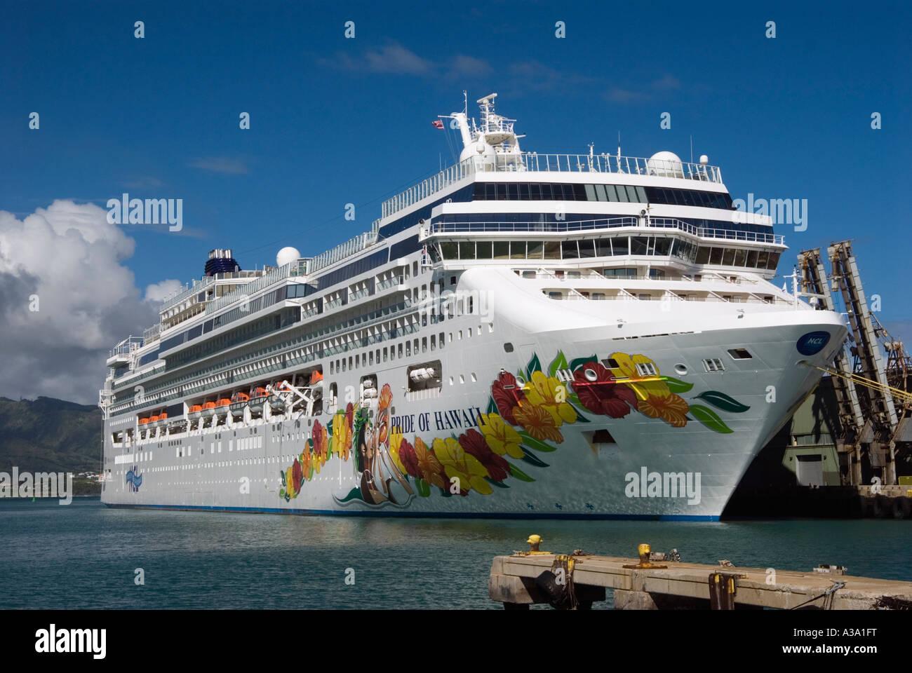 Pride Of Hawaii Cruise Ship In Maui Hawaii Stock Photo Royalty - Cruise ships hawaii