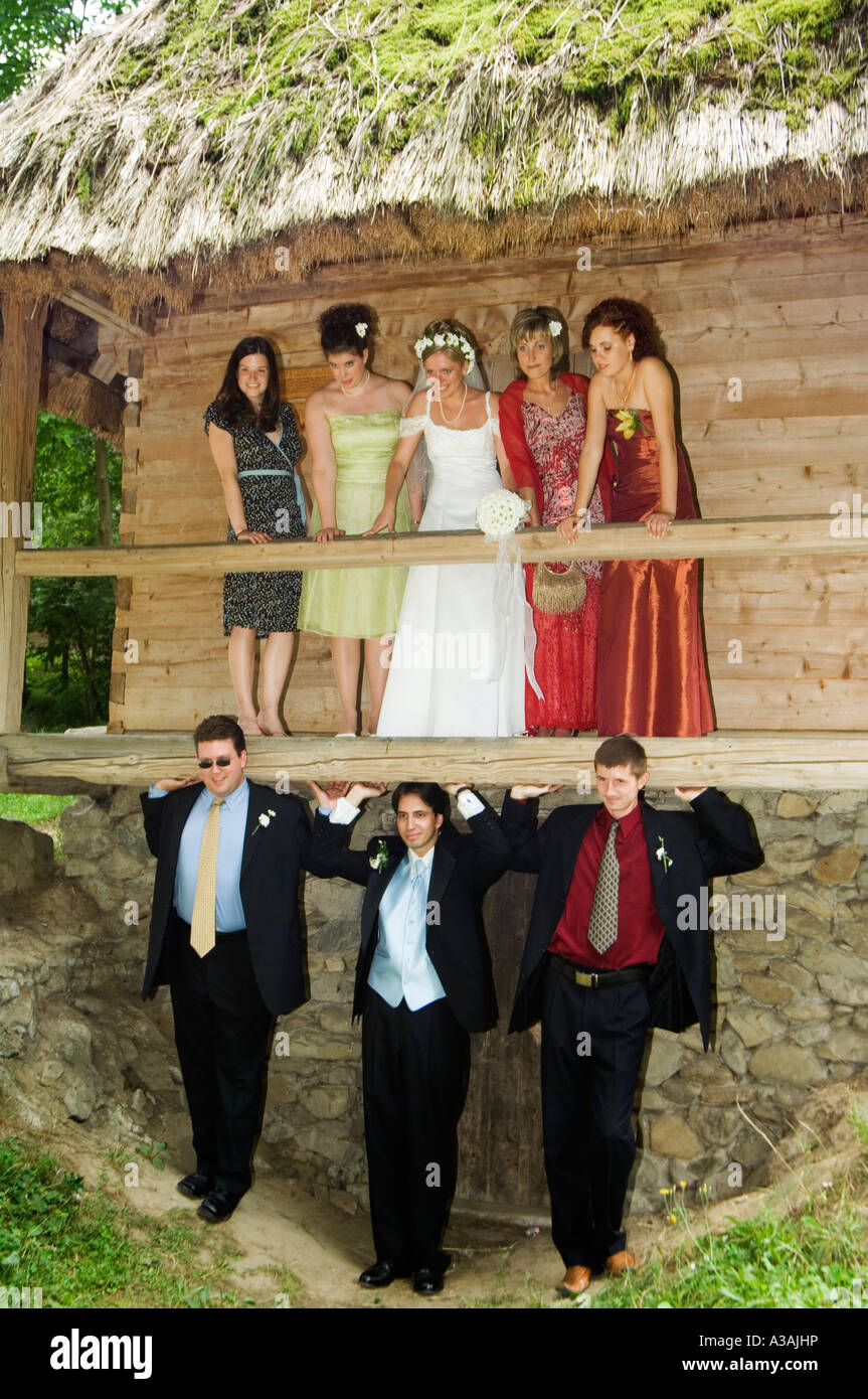 Folk museum wedding