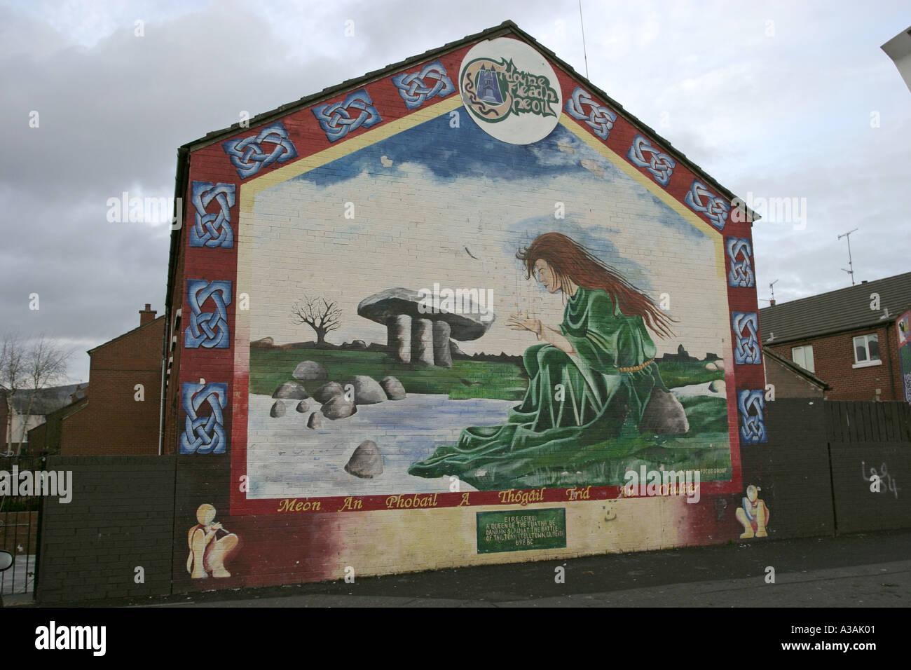 Ardoyne fleadh cheoil festival wall mural north belfast for Mural northern ireland