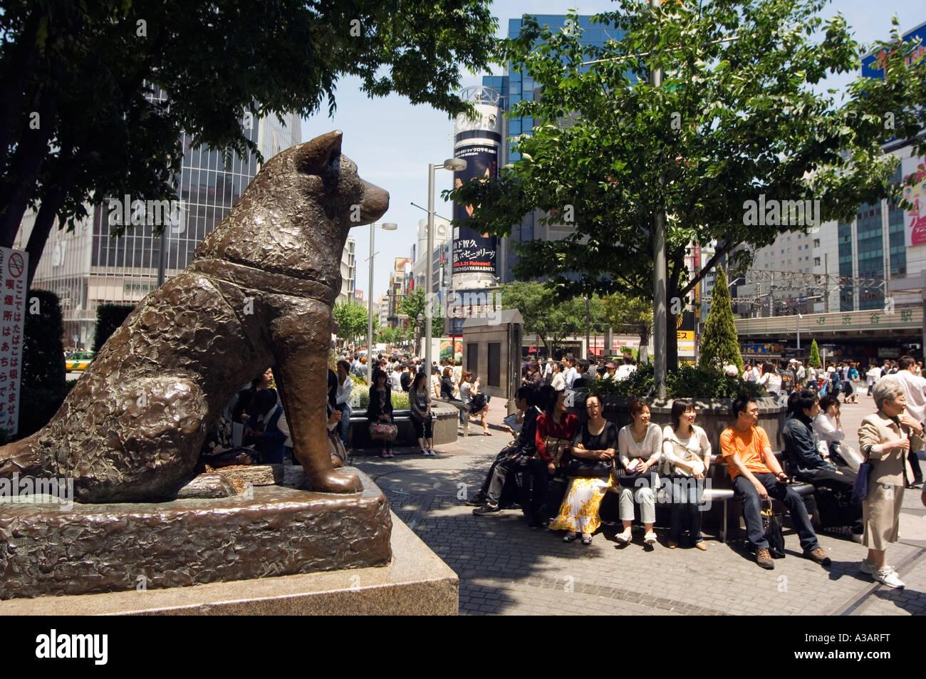 Image Gallery hachiko statue shibuya