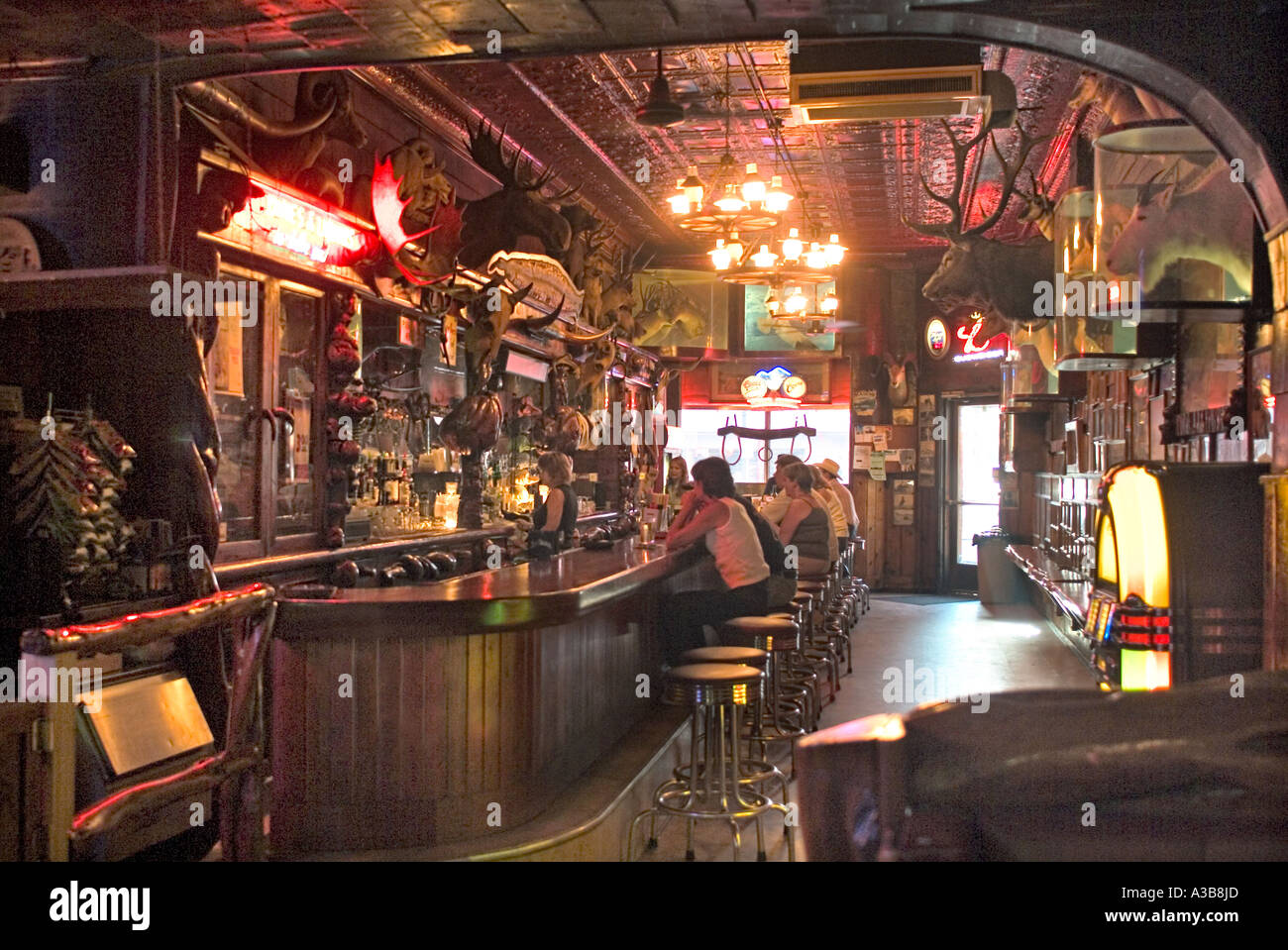 The Mint Bar Sheridan Wyoming inspiration for the movie Brokeback Stock Photo, Royalty Free ...
