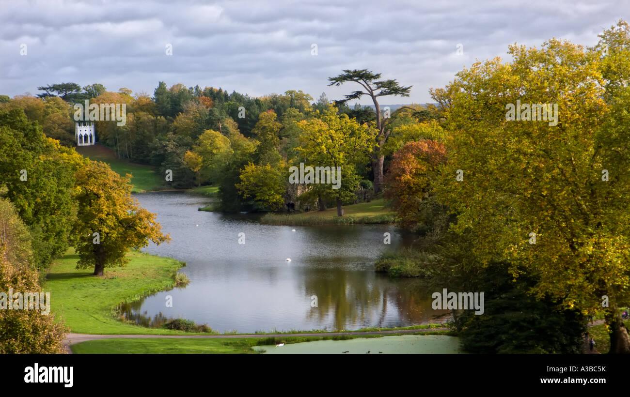 Landscape Garden Surrey : Painshill park th century landscape gardens surrey